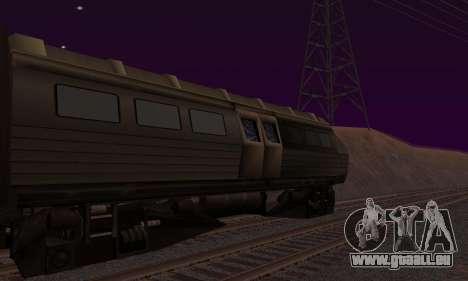 Batman Begins Monorail Train v1 pour GTA San Andreas laissé vue