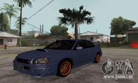 Subaru Impreza WRX STi Tunable pour GTA San Andreas