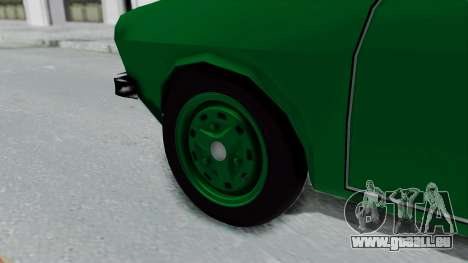 Dacia 1300 für GTA San Andreas zurück linke Ansicht