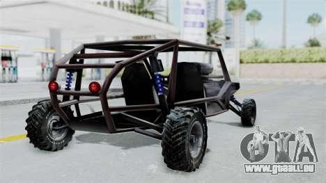 Augmentée De La Lame pour GTA San Andreas laissé vue