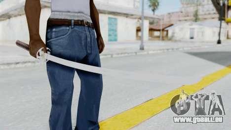 Samurai Sword für GTA San Andreas dritten Screenshot