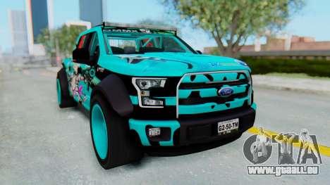 Ford F-150 2015 Drift Gym pour GTA San Andreas