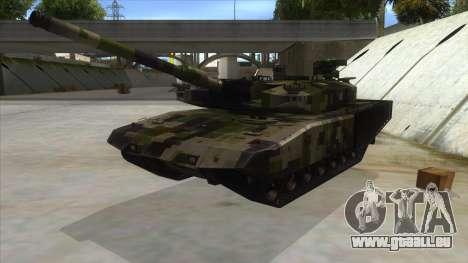 MBT52 Kuma pour GTA San Andreas