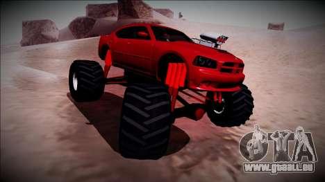 2006 Dodge Charger SRT8 Monster Truck für GTA San Andreas Seitenansicht
