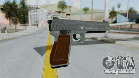 GTA 5 Pistol .50 für GTA San Andreas dritten Screenshot