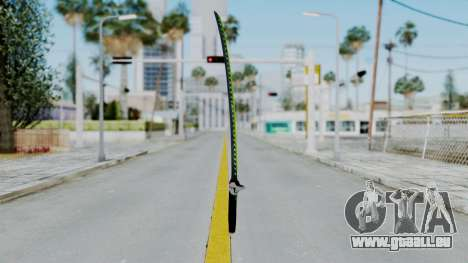 Genji Katana - Overwatch pour GTA San Andreas deuxième écran