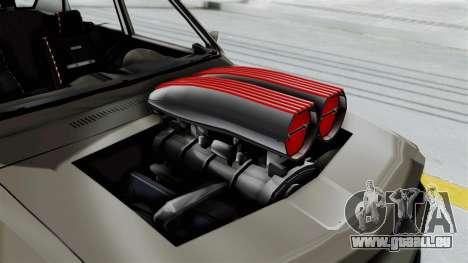Dacia 1310 Tuned für GTA San Andreas Rückansicht