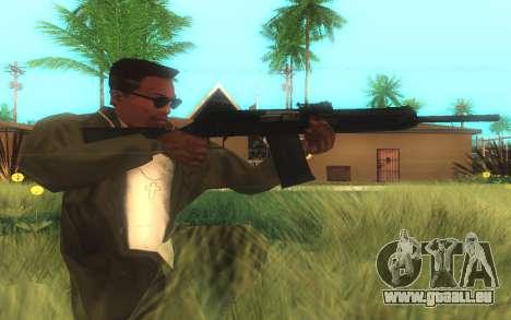 Saïga-12 Gauge pour GTA San Andreas deuxième écran