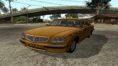 Der GAZ 31105 Wolga-Taxi IVF