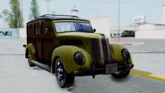 Ford V-8 De Luxe Station Wagon 1937 Mafia2 v1