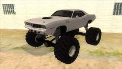 1971 Plymouth Hemi Cuda Monster Truck für GTA San Andreas