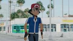 Pokémon XY Series - Ash pour GTA San Andreas