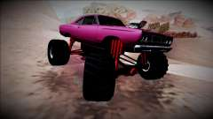 1969 Plymouth Road Runner Monster Truck pour GTA San Andreas