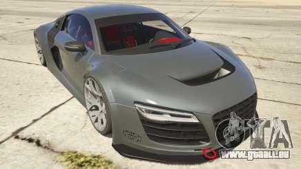 Audi R8 LMS Street Custom für GTA 5