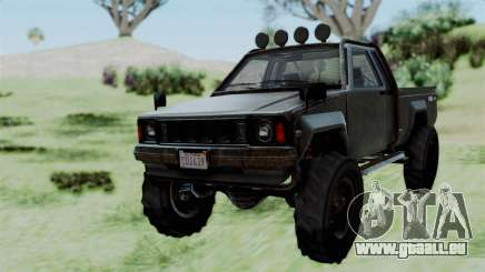 GTA 5 Karin Rebel 4x4 Worn pour GTA San Andreas