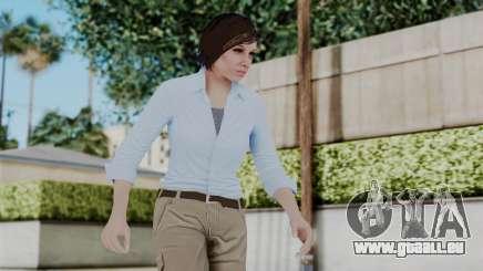 GTA 5 Karen Daniels Civil für GTA San Andreas