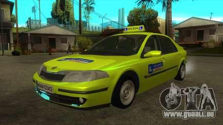 Renault Laguna Mk2 Top Speed-Auto Škola für GTA San Andreas
