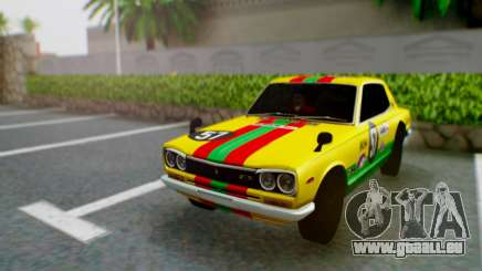 Nissan 2000GT-R [C10] Tunable pour GTA San Andreas