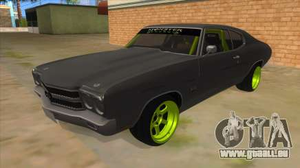 1970 Chevrolet Chevelle SS Drift Monster Energy für GTA San Andreas