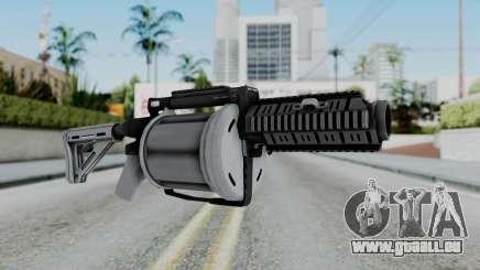 GTA 5 Grenade Launcher - Misterix 4 Weapons pour GTA San Andreas