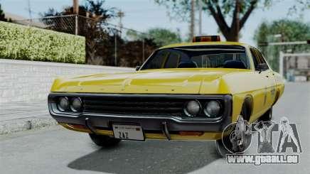 Dodge Polara 1971 Kaufman Cab pour GTA San Andreas