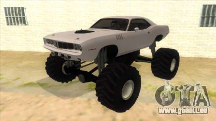 1971 Plymouth Hemi Cuda Monster Truck für GTA San Andreas