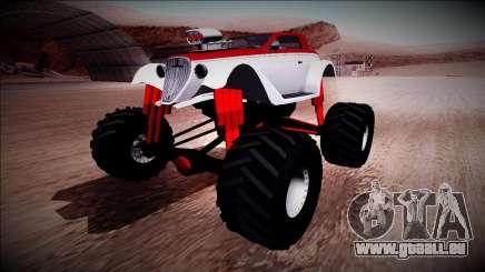GTA 5 Hotknife Monster Truck für GTA San Andreas