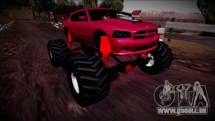 2006 Dodge Charger SRT8 Monster Truck für GTA San Andreas