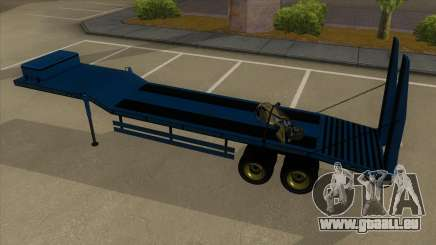 Trailer with Hydaulic Ramps pour GTA San Andreas