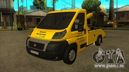Fiat Ducato Road Asisstance pour GTA San Andreas