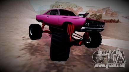 1969 Plymouth Road Runner Monster Truck für GTA San Andreas