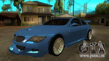 BMW M6 Full Tuning für GTA San Andreas
