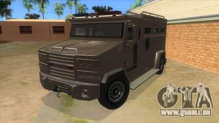 GTA 5 Brute Riot Police für GTA San Andreas