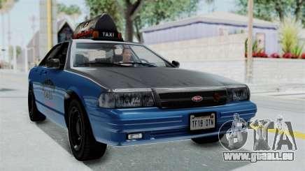 GTA 5 Vapid Stanier II Taxi IVF für GTA San Andreas