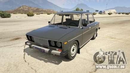 VAZ 2106 Burgund für GTA 5