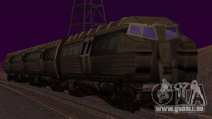 Batman Begins Monorail Train v1 für GTA San Andreas