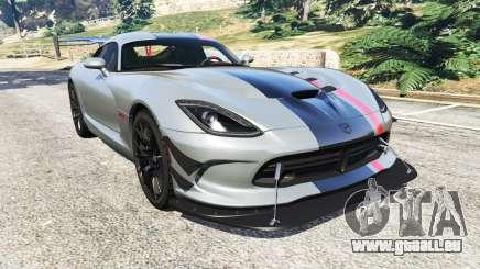Dodge Viper SRT ACR 2016 für GTA 5