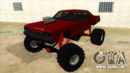 1974 Dodge Monaco Monster Truck pour GTA San Andreas