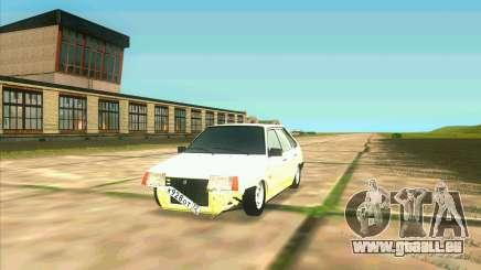 VAZ 2109 BUNKER pour GTA San Andreas
