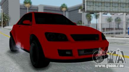 GTA 5 Karin Sultan RS Stock PJ für GTA San Andreas
