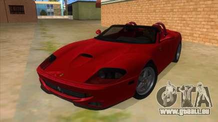 Ferrari 550 Barchetta Pinifarina US Specs 2001 pour GTA San Andreas