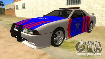 Elegy NR32 Police Edition White Highway pour GTA San Andreas