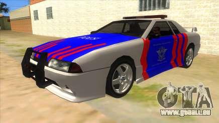 Elegy NR32 Police Edition White Highway für GTA San Andreas