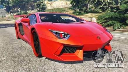 Lamborghini Aventador v1.0 pour GTA 5