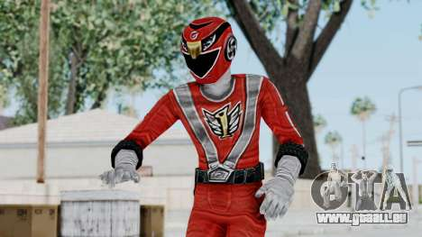 Power Rangers RPM - Red pour GTA San Andreas