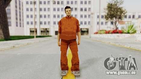 Claude Speed (Prision) from GTA 3 pour GTA San Andreas deuxième écran