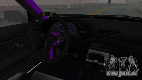 Nissan Skyline R32 Drift pour GTA San Andreas vue intérieure