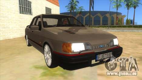 Ford Sierra Sapphire Cosworth pour GTA San Andreas vue arrière