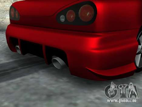 Elegy PFR v1.0 pour GTA San Andreas vue intérieure