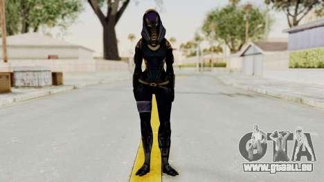 Mass Effect 3 Tali Armor pour GTA San Andreas deuxième écran